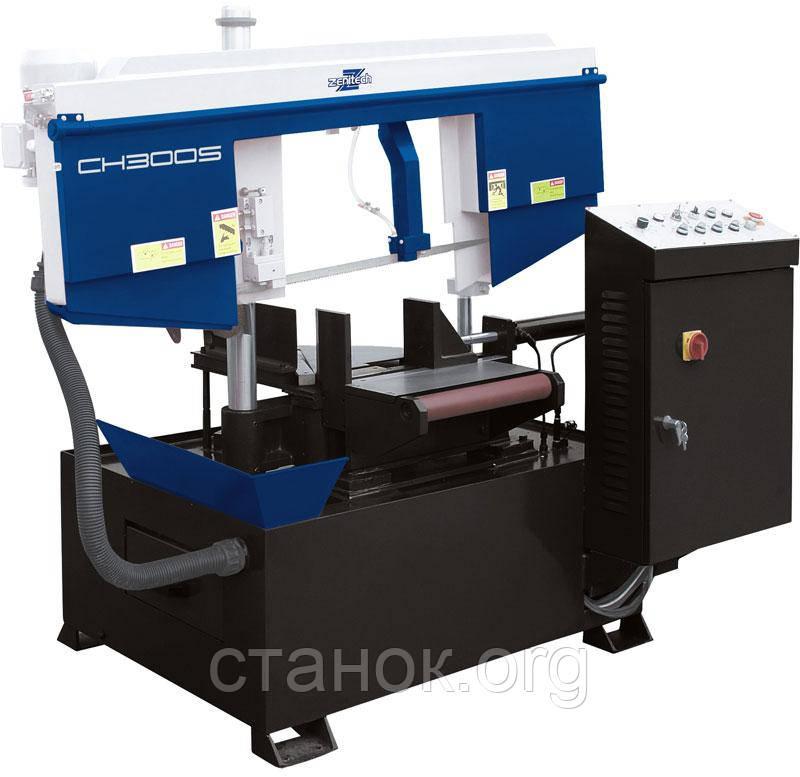 Zenitech CH 300 S Поворотный ленточнопильный станок зенитек цш 300 с