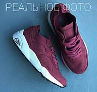 "Кроссовки Puma R698 Soft Pack Trinomic ""Burgundy"""