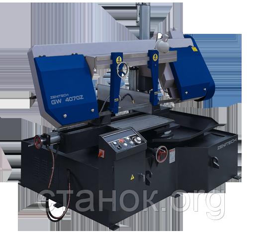 Zenitech GW 4240 Z Поворотный ленточнопильный станок зенитек гв 4240 з