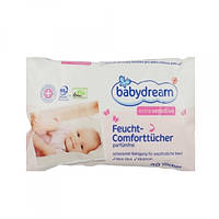 Влажные салфетки Babydream Extra Sensitive parfumfrei, 80 шт