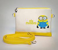 """Стильная сумочка для девочки """"Миньон"""""""