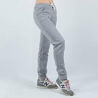 Женские спортивные штаны серые Nike батал 50-52