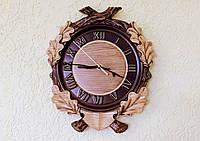 Резные Часы - Охотничье Часы 290х250