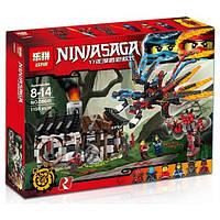 """Конструктор Lepin Ninjago 06041 """"Кузница Дракона"""" на 1158 деталей"""