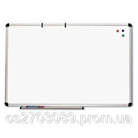 Маркерная доска ABC Office 65 x 100 см, алюминиевая рама S-line