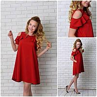 Платье 785 вишневый
