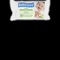 Влажные салфетки Babylove Sensitive parfumfrei, 30 шт