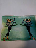 Обложка на паспорт сшита для вышивки бисером Д 32