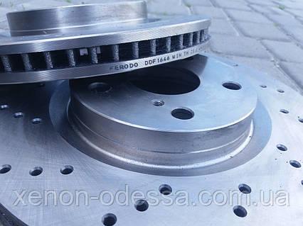 Перфорация и фрезерование тормозных дисков, фото 2