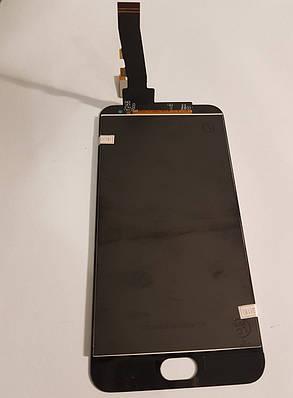 Модуль (сенсор + дисплей LCD) Meizu M2/M2 mini чорний, фото 2