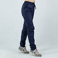 Лыжные женские синие спортивные штаны