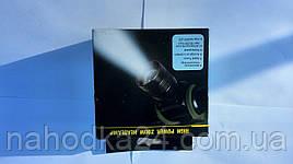 Налобный фонарь Police BL-6660 Q5 + Камуфляжный чехол