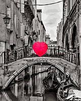 Рисование по номерам 40×50 см. Сердце Венеции Фотохудожник Ассаф Франк, фото 1