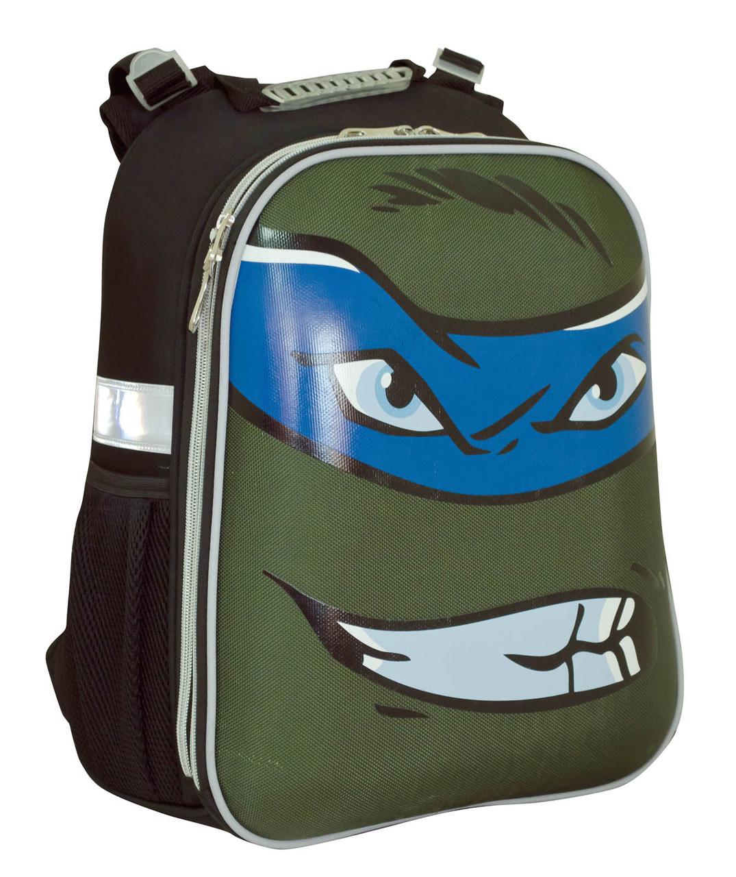 553345 Рюкзак каркасный YES H-12 Turtles face 38*29*15