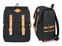 Рюкзак городской черный Aicha