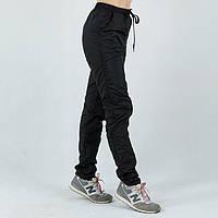 Лыжные женские черные спортивные штаны
