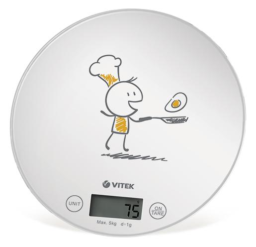 Весы кухонные Vitek VT-8018 (электронные весы)