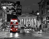 Картины по номерам 40×50 см. Ночной Лондон