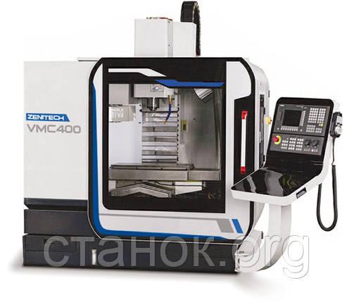 Zenitech VMC 400 Вертикально-фрезерный центр фрезерный станок по металлу с ЧПУ зенитек вмс 400, фото 2