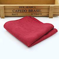Bow Tie House™ Платок красный с замшевой ткани