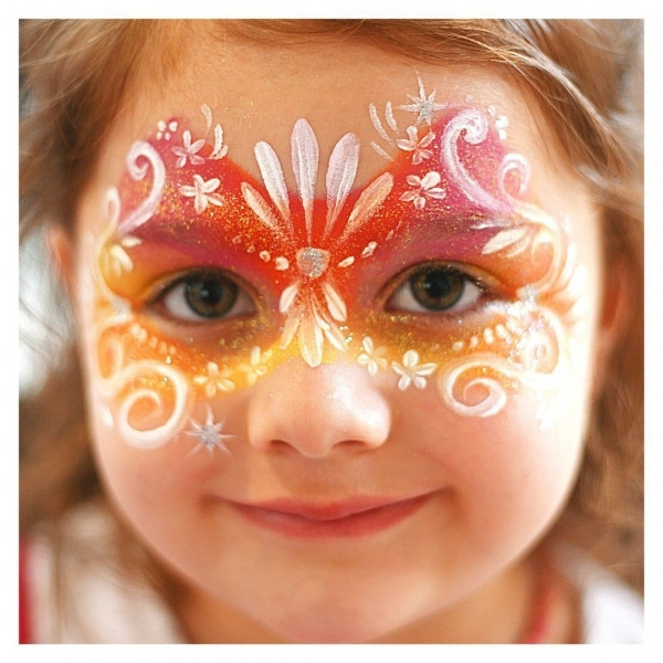 Аквагрим, краски для лица, мелки для волос, пряди, декоративная косметика