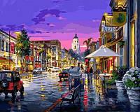 Картины по номерам 40×50 см. После дождя Художник Цао Йен