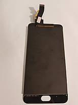 Модуль (сенсор + дисплей) Meizu M3, M3 mini чорний, фото 3