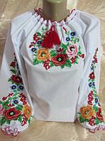 """Блуза подростковая для девушки """"Мальвы"""""""
