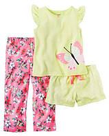 Пижама Carters майка, шорты и штаны; 12 лет