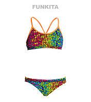 Раздельный купальник для девочек Funkita Mosaic Magic FS02, фото 1