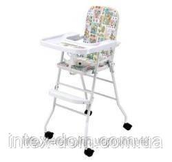 Дитячий стільчик для годування НВ 304 на колесах київ