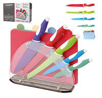 Набор ножей с цветными досточками Besser