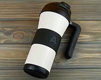 Термокружка Starbucks Grip Handle White 473 мл