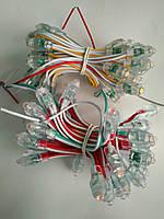 Светодиоды быстрого монтажа 9мм, светодиоды пиксели 12 вольт для рекламы