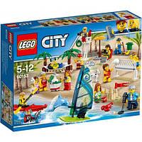 Lego City Отдых на пляже - жители Lego City 60153