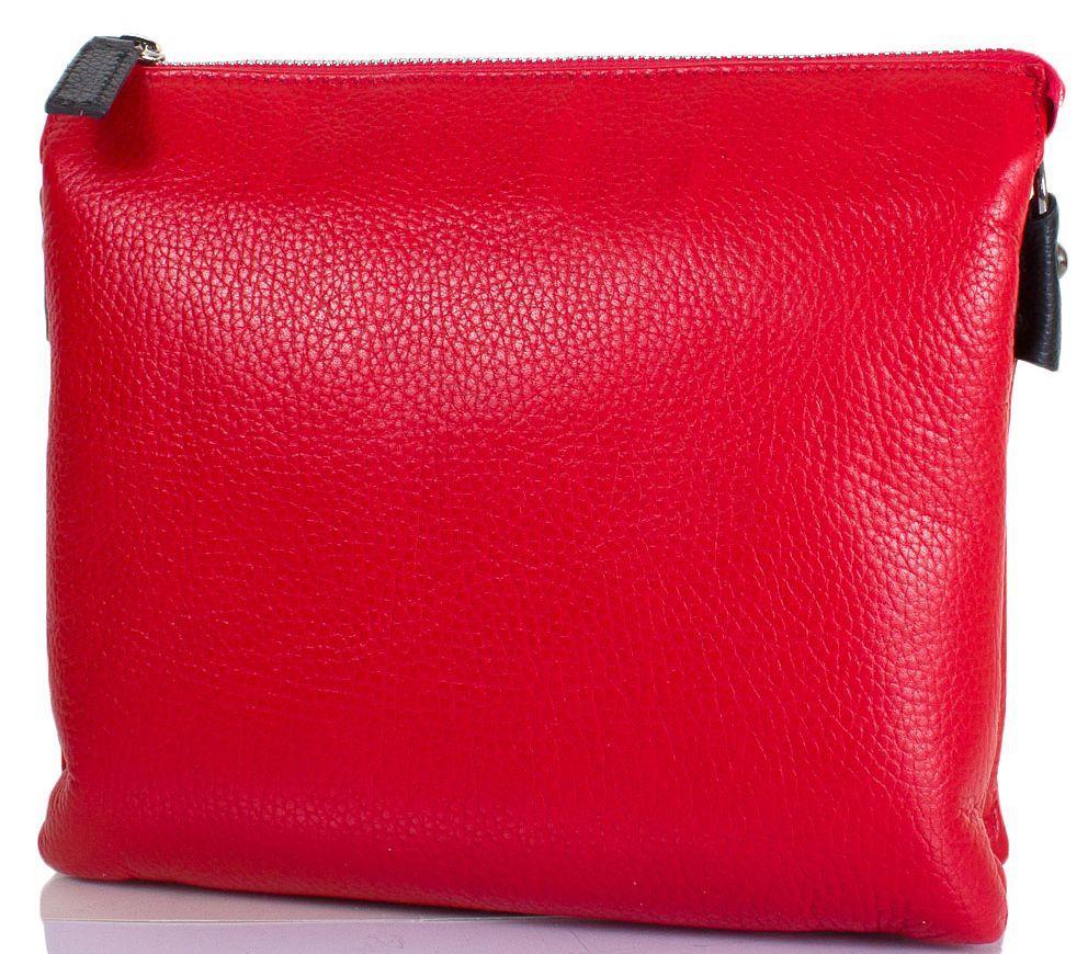 d7207dce952a Женская кожаная сумка DESISAN SHI2811-4-1FL красный — только ...
