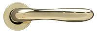 Ручка дверная на розетке Ghidini Aurora латунь полированная (Италия)