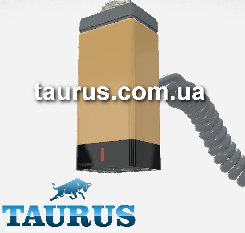 Золотой ТЭН прямоугольный TERMA ONE 30х40 Gold + регулятор 45С и 60С, таймер 2 ч., LED. Под пульт ДУ. Польша