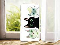 Силиконовый бампер чехол с рисунком для Meizu MX5