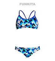 Раздельный купальник для девочек Funkita Peak Perfomance FS02