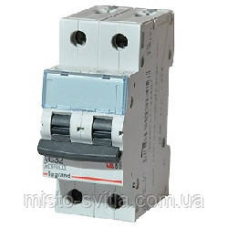 Автоматический выключатель TX3 63А 2п 6кА C (автомат) Legrand Легранд