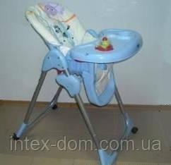 Дитячий стільчик для годування Gloria 290 на коліщатках київ