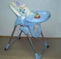 Детский стульчик для кормления Gloria 290 на колесиках киев