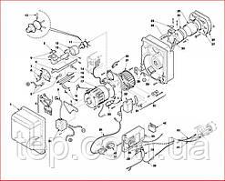 Запасні частини до пальника Riello серії Gulliver BS/D