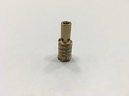 Розпилювач захисного газу Іскра з пружиною короткий М6/М8/33 (аналог МВ14) з внутрішньої лівою різьбою