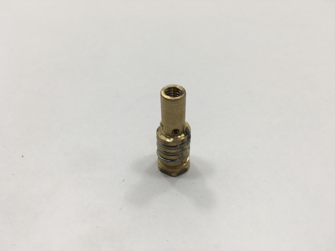 Распылитель защитного газа Искра с пружиной короткий М6/М8/33 (аналог МВ14) с внутренней правой резьбой