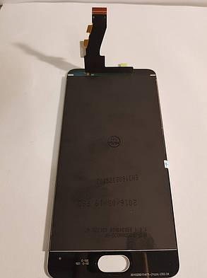Модуль (сенсор + дисплей) Meizu M3s (Y685Q), M3s Mini, original білий, фото 2