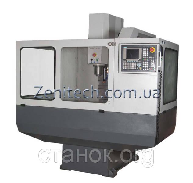 Zenitech Z 100 CNC Фрезерный станок по металлу с ЧПУ верстат зенитек з 100