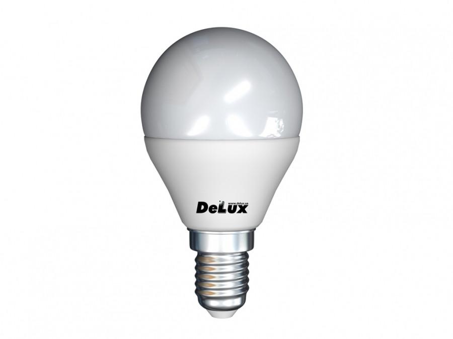 Лампа 7Вт 4100K E14 DELUX BL50P ЛЕД