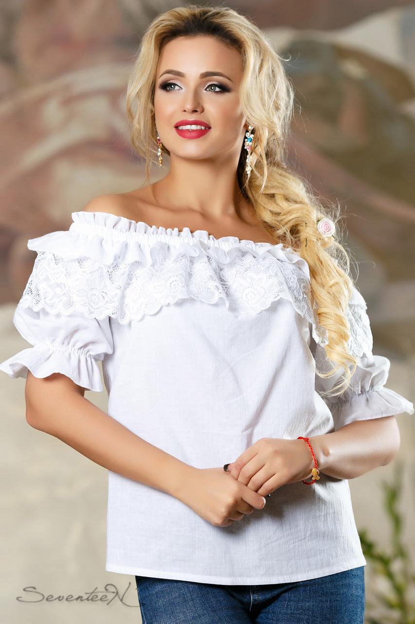 Блуза 2160 белый